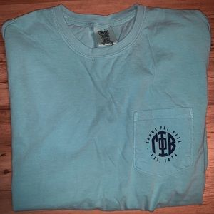 Chalky Mint Comfort Colors Pocket Tee